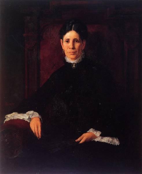 Frank Portrait of Frances Schillinger Hinkle